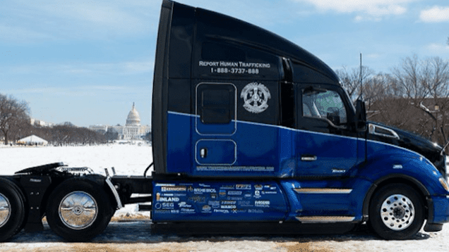 Truckers Against Trafficking To Auction Off Everyday Heroes Kenworth T680