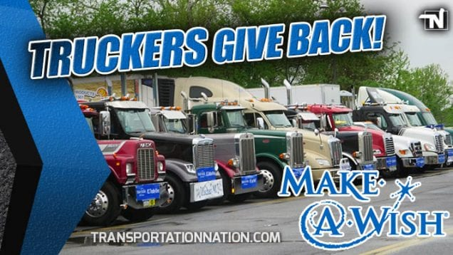Truckers Give Back – Make a Wish Foundation – Mother's Day 2019