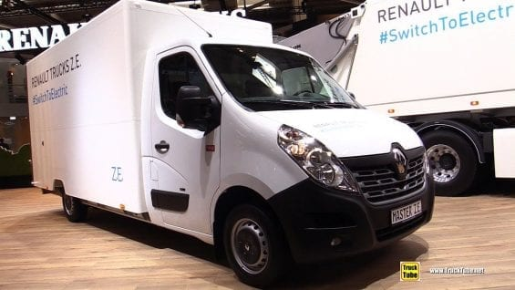 2019 Renault Master ZE Electric Distribution Truck – Exterior Interior Walk Around