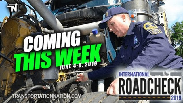 CVSA International Road Check – June 4-6, 2019