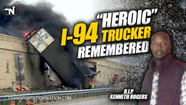 Heroic I-94 Trucker Remembered – Kenneth Rogers