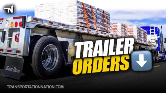 Trailer Orders Down