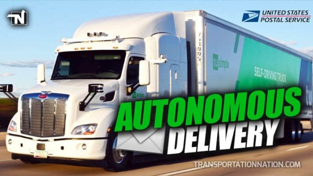 TuSimple and USPS – Hopes to deliver pink slips to truckers next year