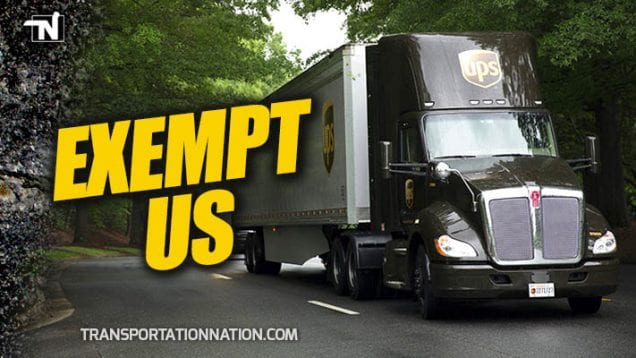 UPS Asks FMCSA for Exemption from New Driver Training Standards