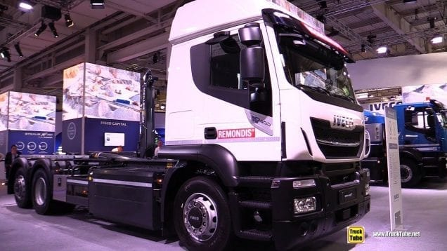 2019 Iveco Stralis 400 Natural Power Tractor – Exterior Interior Walk Around