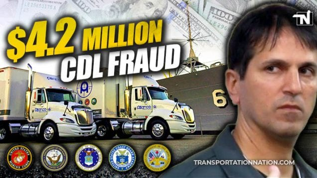 $4.2 million veteran cdl fraud