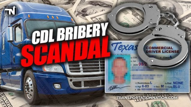 CDL Bribery Scandal in Texas