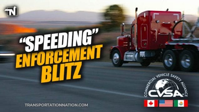 CVSA Enforcement Blitz – July 2019