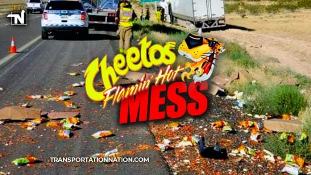 Cheetos Flamin' Hot Mess – Two Semi Accident in Arizona
