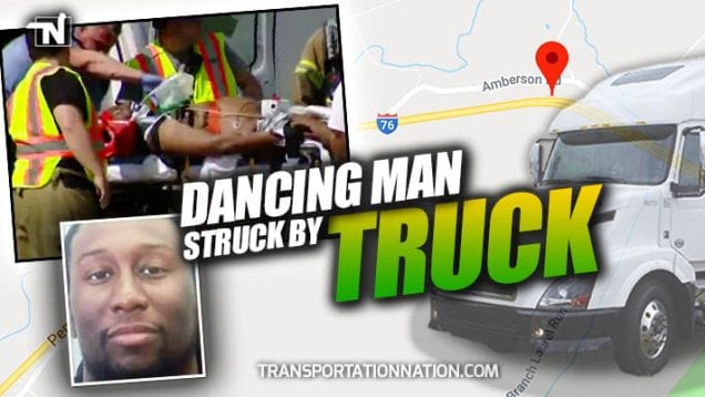 Dancing Man Struck by Truck on Pennsylvania Turnpike