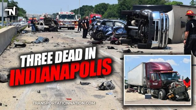 Indianapolis Mom and Toddler Twins Killed in Crash with Semi Truck