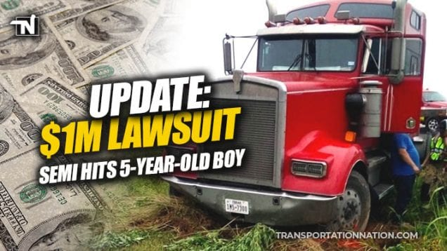 Semi Hits 5 Year Old Boy in Elgin Texas – UPDATE 1 million dollar lawsuit