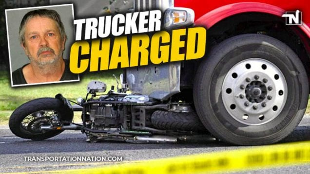 Trucker Charged in Road Rage Accident that Killed Motorcyclist in Louisiana