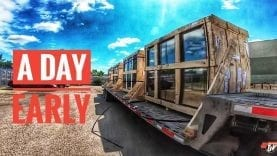 My Trucking Life | A DAY EARLY!! | #1751