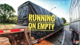 My Trucking Life | RUNNING ON EMPTY | #1749