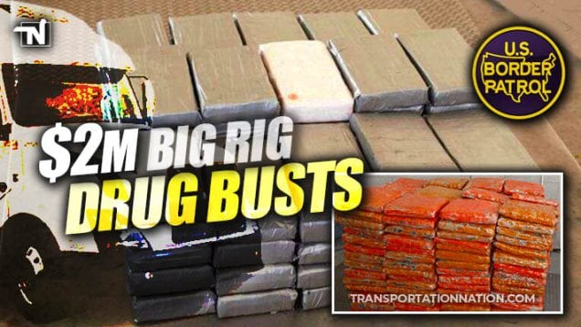 $2 million big rig drug busts