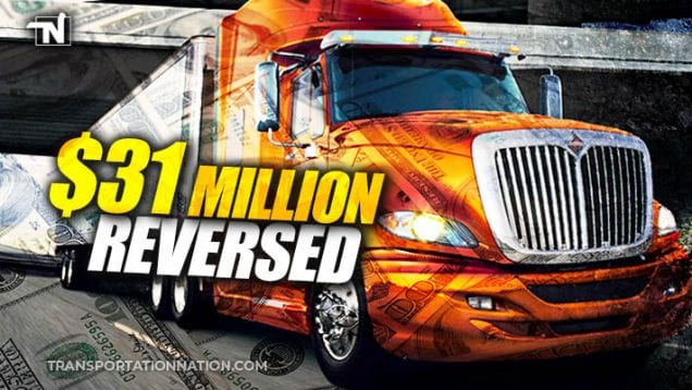 $31M Navistar Settlement Reversed