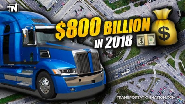 $800 Billion in 2018 – Trucking