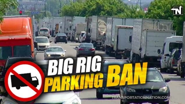 Big Rig Parking Ban in Minnesota