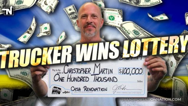 Christopher Martin – Idaho Trucker Wins Lottery
