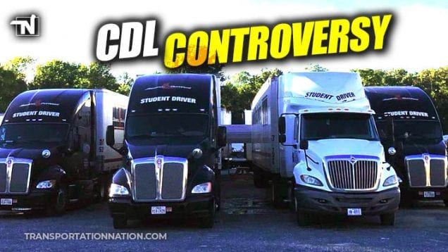 cdl controversy – carolina truck driving school