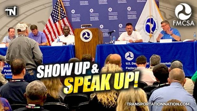 fmcsa listening session in september