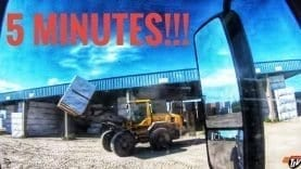 My Trucking Life | 5 MINUTES!!! | #1774