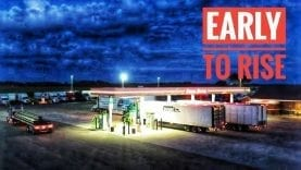 My Trucking Life | EARLY TO RISE | #1780