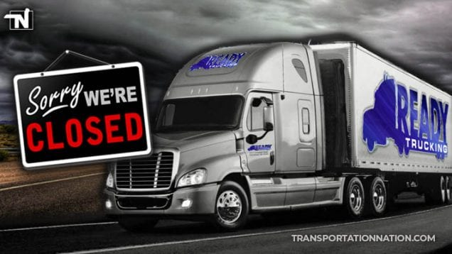 ready trucking out of georgia suddenly closes