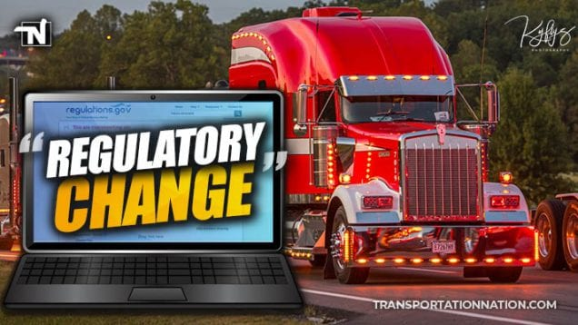 regulatory change – gats comment drive for truckernation
