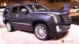 2019 Cadillac Escalade Platinum – Exterior and Interior Walk Around