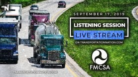 FMCSA Live Stream on September 17 2019