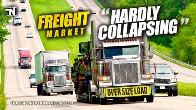 Freight Hardly Collapsing