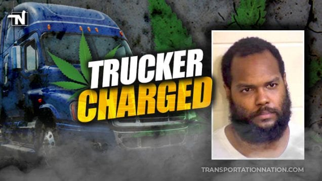 trucker charged with being high after fatal accident