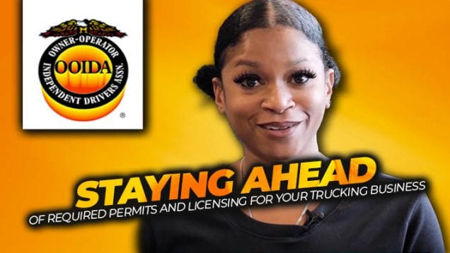OOIDA – staying ahead of permits