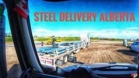My Trucking Life | STEEL DELIVERY ALBERTA | #1813