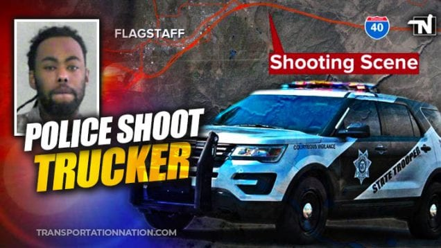 police shoot trucker near flagstaff, az
