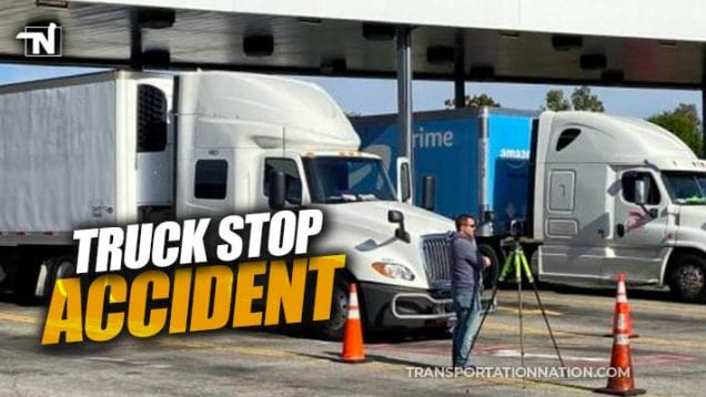 truck stop accident in kentucky