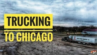 My Trucking Life | TRUCKING TO CHICAGO | #1845