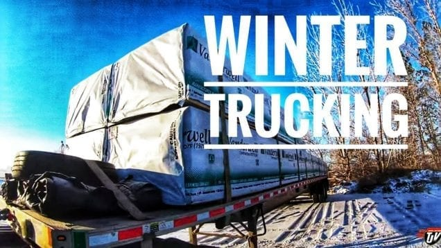 My Trucking Life | WINTER TRUCKING ❄️🚛💨 | #1843
