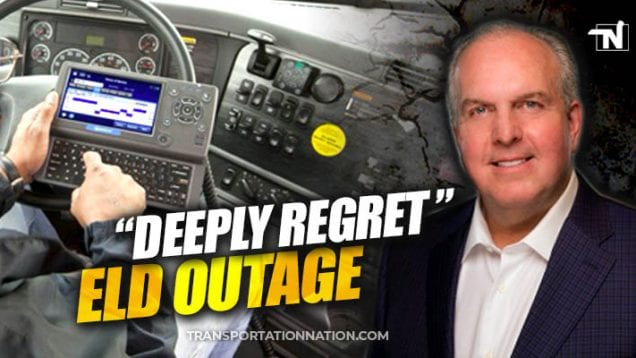 omnitracs CEO deeply regrets eld outage