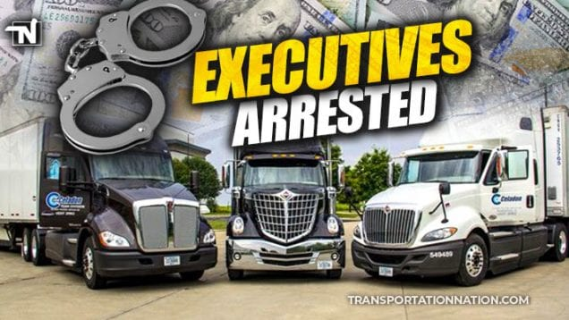 Celadon Trucking Executives Arrested