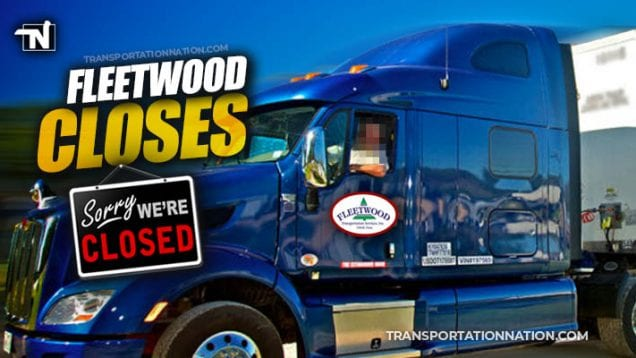 Fleetwood Transportation Services Closes after 63 Years
