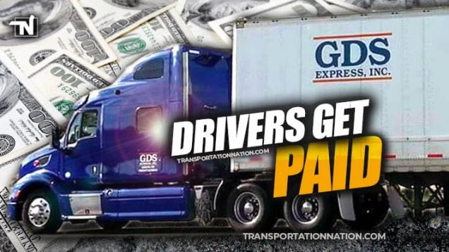GDS Express Drivers Get Paid on Friday, December 20