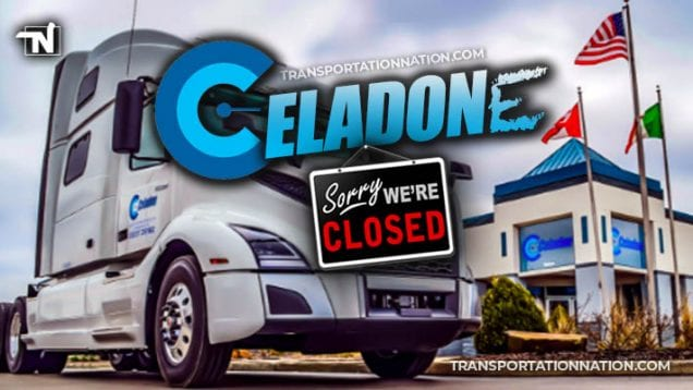 It's Official- Celadon Officially Files Chapter 11 Bankruptcy and Ceases Operations