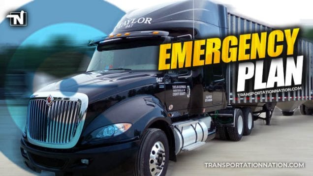 Taylor Express – Emergecy Plan