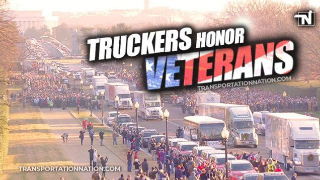 Truckers Honor Veterans – Wreaths Across America 2019