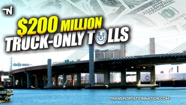 $200M truck-only tolls in CT