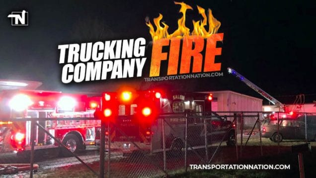 $200k trucking company fire in Virginia