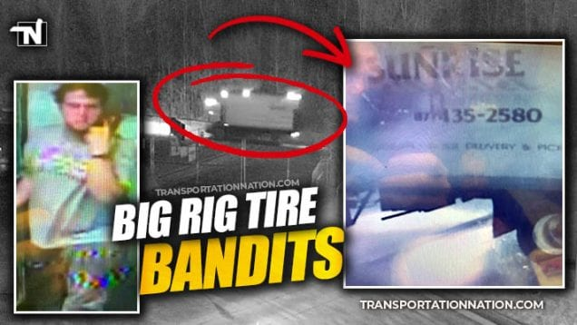 Big Rig Tire Bandits Still at Large